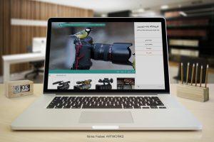طراحی وب سایت بانه دوربین