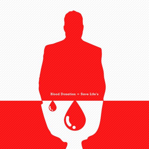 طراحی پوستر اهدای خون