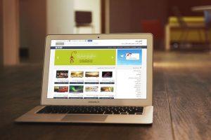shopping web design - kalayebaneh
